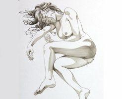 【閲覧注意】美女が死んで腐るとどうなるか?気になる過程が仏教絵画にあってワロたwww