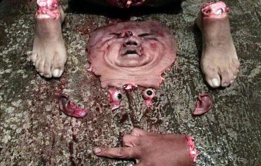 【バラバラ死体】手足チョキー 顔剥ぎ 目玉ポーイ カルテルさんの見せしめ用死体クオリティがどんどん上がってるんやがw ※グロ画像