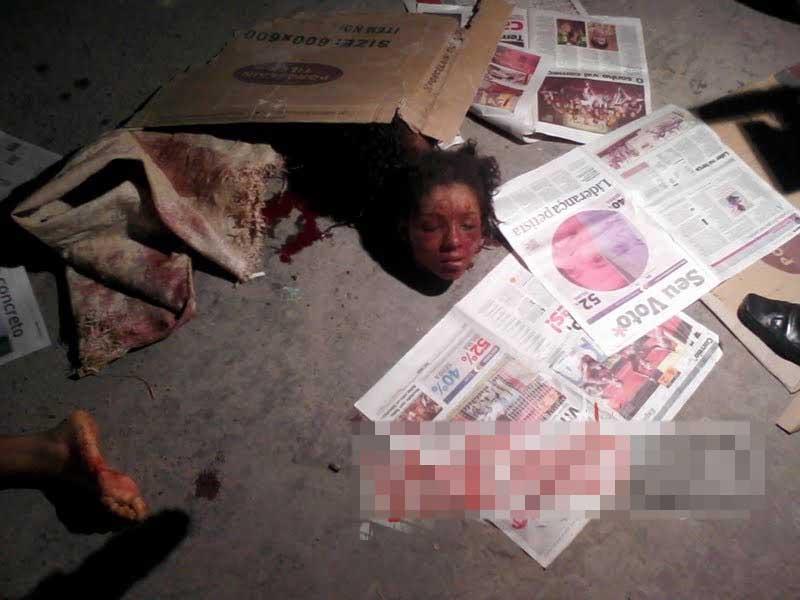 【女 死体】ヤバい奴に誘拐されてしまった少女2人 身代金払ったところで斬首されて捨てられる模様 ※グロ画像