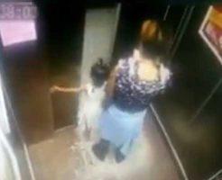 【幼女 事故】中国人食いエレベーターさん 遂に幼女さんの手を頂くことに成功するw ※衝撃映像
