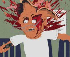 【殺人映像】虫の息の人間を今から頭割ってぶっ殺したいと思いますw ショットガン ガシャ バーン ※グロ動画