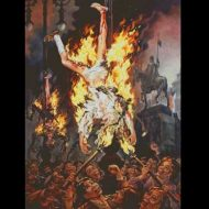 【殺人映像】もっと熱くなれよ!火シュボッ ボコッドゴッ 土人国家のイスラム教徒さん生きたまま焼かれてリンチされとるw ※グロ動画