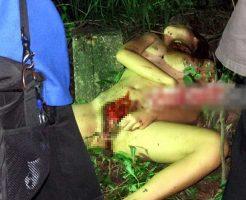 【女 死体】全裸でくぱぁ~してる女の子が寝てて欲情しそうになったんやが マンコが刈り取られて今それどころじゃないw ※エログロ画像