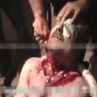 【処刑映像】首ちょっとずつ切って血抜きしてから喉を叩き切ってるカルテルの斬首映像はこちら ※グロ動画