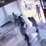 【衝撃映像】邪魔するで~邪魔するんやったら帰って~ 凶器持った奴ゾロゾロカチコミー 来いよ!拳銃バァーン