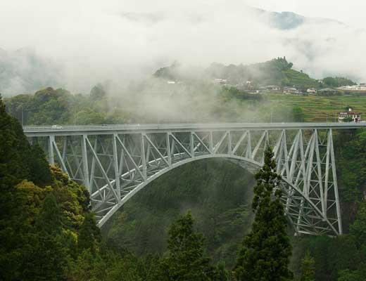 青雲橋風景写真