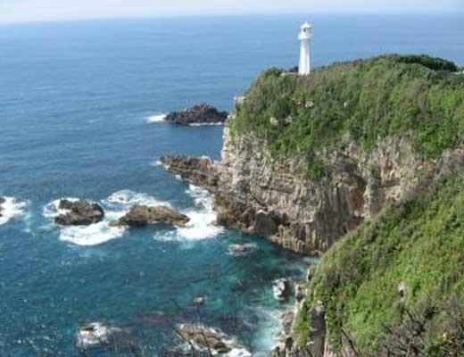 足摺岬風景写真