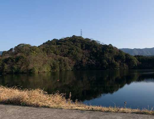 赤迫池風景写真