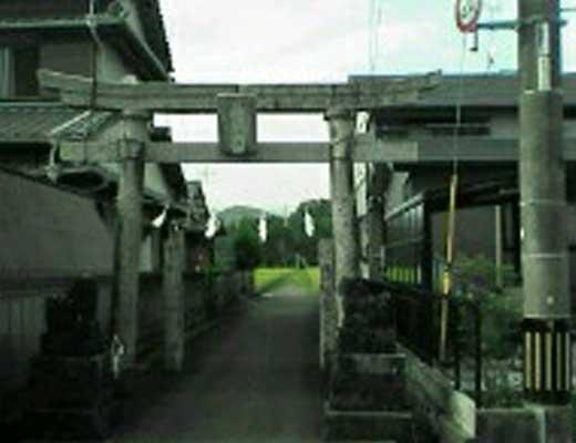 藤宮神社風景写真