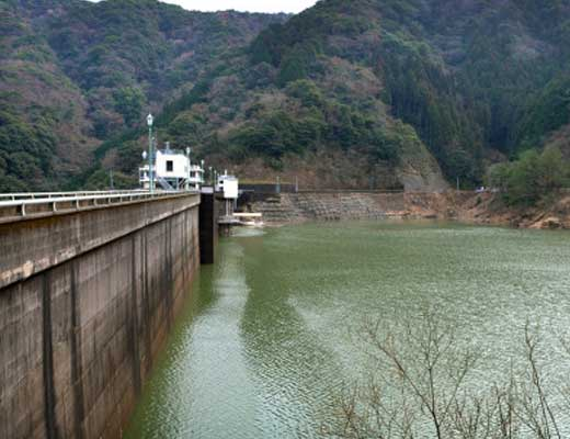南畑ダム風景写真