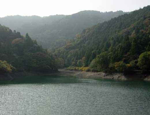 大谷池風景写真