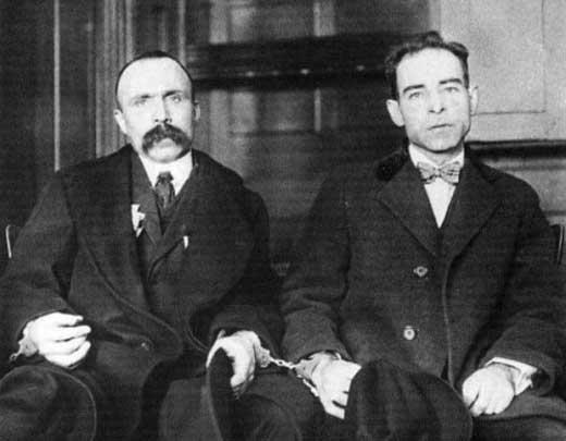 フェルディナンド・ニコラ・サッコとバルトロメオ・ヴァンゼッティ