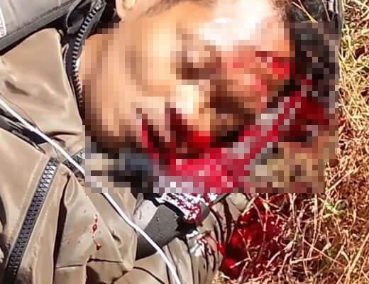 【グロ動画】バイクで事故ったライダーさんが鼻と口からとんでもないような量の血を流して顔にナイアガラの滝作ってもうてるんやが・・・ ※事故