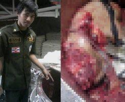【グロ画像】プラスチック粉砕機に人間が誤って入ってしまった結果→リサイクルできない肉塊死体になったンゴw ※バラバラ死体