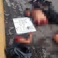 【グロ画像】昼間の街中でこんな光景出くわすとかメキシコ日常マジ半端ねぇwww ※バラバラ死体