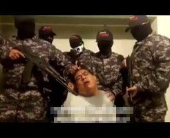 【グロ動画】カルテルに拘束された人間が返事がない。ただの屍のようだになるまでの一部始終がコレ ※処刑映像