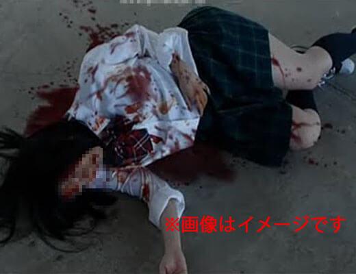 【グロ動画】スクーター乗ってたJKさんが脳漿炸裂ガールになっちゃった現場って興味ある??? ※少女 死体
