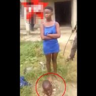 【グロ動画】JS少女「私がヤリました・・・」生首ぽろっw 10歳の女の子が殺人罪で捕まるとかマジかよ・・・ ※死体