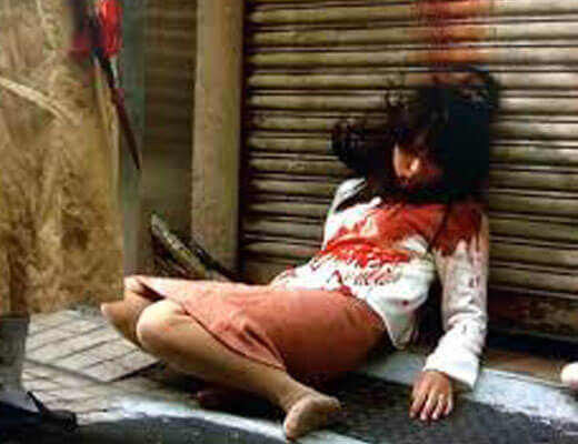 【グロ動画】尻軽糞ビッチさん2番目のATM用彼氏に浮気バレブチ殺されててクッソざまぁwww ※女 死体