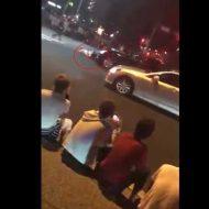 【衝撃映像】ブチギレ沖縄県警さん ガチでDQN轢いててクッソワロタwww ※暴走族