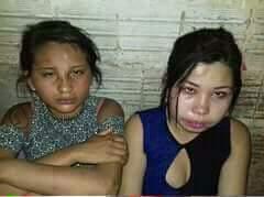 【グロ画像】これが女の子二人の最後の姿でした・・・ 拷問されて殺される直前の姿がコレ ※死体あり