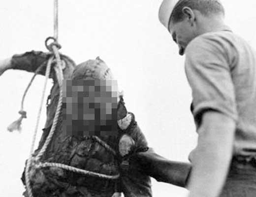 【グロ動画】真珠湾攻撃で海に墜落し死亡した日本人パイロットの引き上げられた際の貴重映像はこちら ※グロマップ