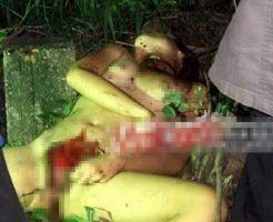 【グロ画像】おマンコ刈り取られた少女さんの死体で抜きたい奴はちょっとこいw ※グロマップ