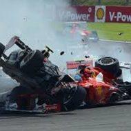 【閲覧注意】CARTのレース中に事故したレーサーが肉片になる瞬間…
