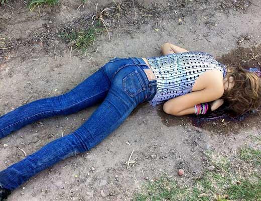 【グロ画像】乱暴すぎる男集団に襲われてしまったJC少女さんの末路がコレ・・・