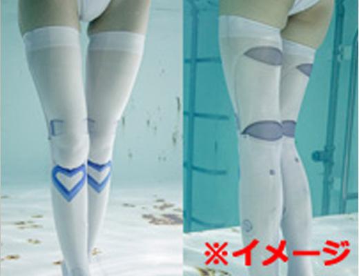 【朗報】裸×ストッキング美女が泳ぐ新ジャンル、かなりエロいことが判明www