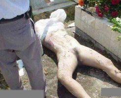 【死姦】葬式終わって埋められたばかりの女の子が墓荒らしに掘り起こされてレイプされるって言ってる意味が理解出来んのやがwww ※グロ画像