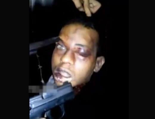 【グロ動画】海外のDQNマジ半端ねw ぶち殺した奴の生首棒にぶっ刺してにらめっこして遊ぶとかwww