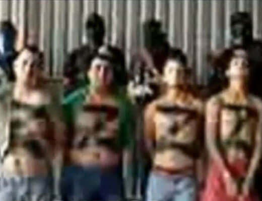 【グロ動画】一度に5人を斬首処刑に メキシコ最大の麻薬カルテル ロス・セタスよる残虐過ぎる殺人映像・・・