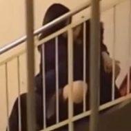 【JK盗撮動画】学校の階段付近でアンアン聞こえるなと思ったら学生カップルがリアルセックスしていたンゴwww ※無修正エロ