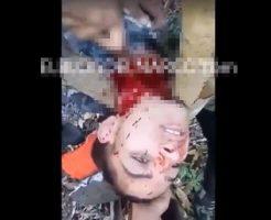 【グロ動画】メキシコ麻薬カルテルによる斬首処刑映像 喉元をかき切られている音が生々しすぎる・・・ ※殺人