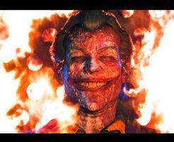 【グロ動画】ふぁああああw 自転車乗ってた少年がいきなり燃えてこんがりおいしく焼かれてるだがwww
