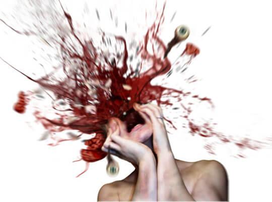 【グロ動画】ショットガンでヘッドショットされてしまった人間はこうなる・・・ ※死体