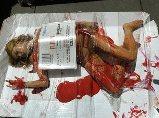 【【グロ動画】麻薬カルテルに関わっていた少女さんの全裸死体って興味ある??? ※女 グロ