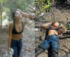 【グロ動画】こんな少女でも麻薬カルテルに拷問されて惨殺されます・・・ ※女 死体
