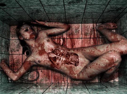 【グロ動画】ははーん さてはレイプされてたな~って感じの全裸死体が見つかったんやがw 顔が血みどろ過ぎて抜けない・・・