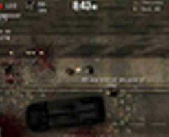 【フラッシュゲーム】荒廃した町でゾンビから生きて帰ってくるために銃を撃ちまくる無料Flashゲーム「Dead Frontier: Night Three」