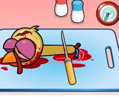 【グロゲーム】捌いてない鳥を調理していくってここまでグロいのかよwww