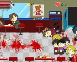 【グロゲーム】某ファーストフード店で乱闘しまくって店内を血祭に上げてやったぜw