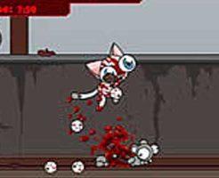 【グロゲーム】可愛いぬっこがネズミを惨殺してるんやけど・・・