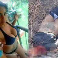 【グロ画像】ラテン美女さんがメキシコカルテルに捕まったらこうなる→手足の拘束からマンコ丸出しで殺害される模様・・・
