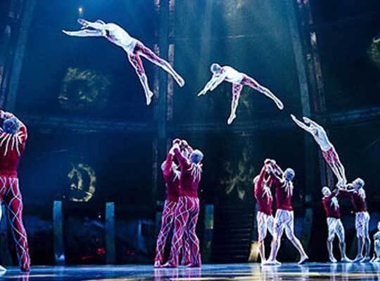 【衝撃 事故】シルク・ドゥ・ソレイユの団員が公演中に落下し死亡した映像・・・