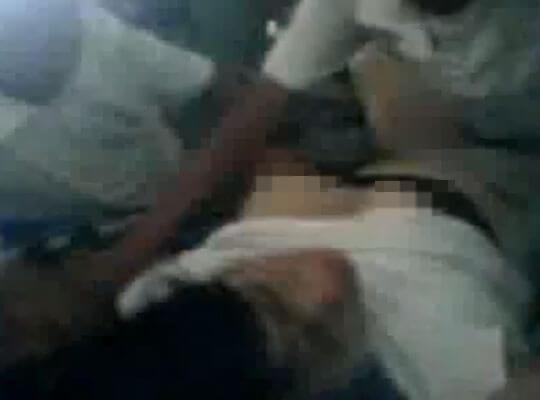 【無修正】同級生に集団で犯され続ける少女を撮影した本物レイプ動画・・・