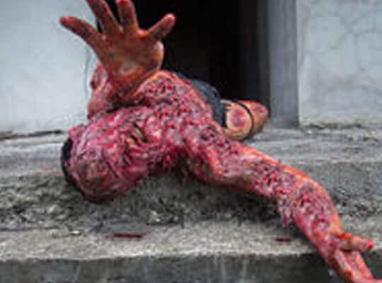 【グロ動画】地獄絵図過ぎる ブラジル刑務所内で行われた人肉バーベキューの現場・・・