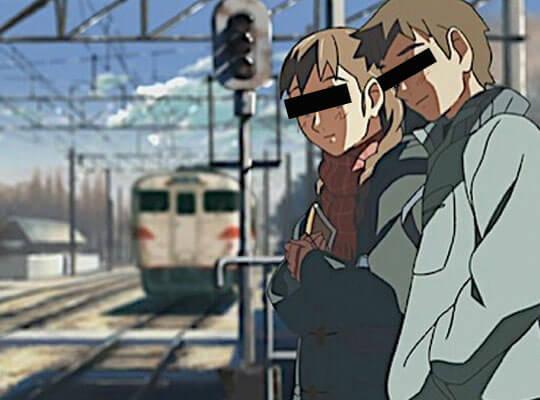 【カップル心中】彼女「一緒に死のう」彼氏「うん」→仲良く電車に轢断されて死亡