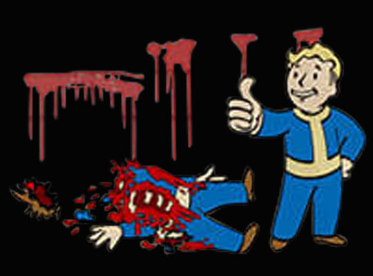 【グロ動画】殺害された男性 斧や拳銃でオーバーキルされてしまう・・・